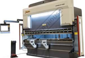 APHS 41200 Hydraulic CNC Pressbrake 200T x 4100mm, 5 Axis, Delem DA66T Touch Screen Control Includes