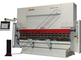 APHS 41200 Hydraulic CNC Pressbrake 200T x 4100mm, 5 Axis, Delem DA66T Touch Screen Control Includes - picture0' - Click to enlarge