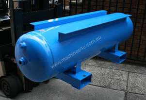 260 LITRE HORIZONTAL AIR RECEIVER PRIMED & PAINTED