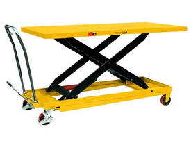 Huge Deck Size Scissor Lift Table with Foot Pump 5