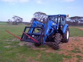 Tractor Loader Double Spear Hay Forks - picture0' - Click to enlarge