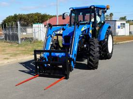 Tractor Loader Double Spear Hay Forks - picture4' - Click to enlarge
