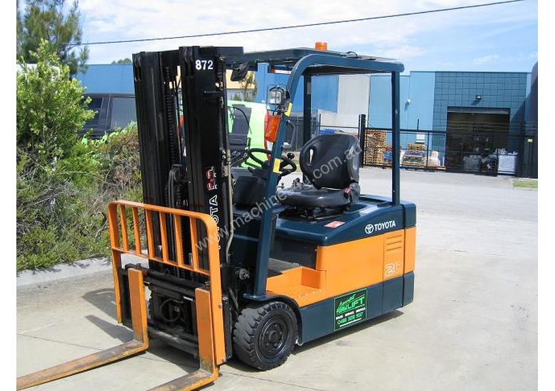 TOYOTA 7FBE20 **Container Mast**LOW HOURS