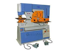 Metalex Punch & Shear model HIW 80 ton - picture0' - Click to enlarge