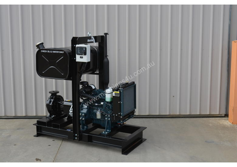 Remko Kubota Pressure Irrigation Pump Package