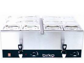 Birko 1110100 Bain Marie Dble Tap/Vents no pans - picture0' - Click to enlarge
