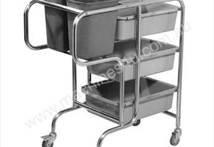 F.E.D. RTC-5 - Stainless Steel trolley