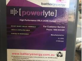 Powerlyte 12V175 High Performance VRLA Battery #G