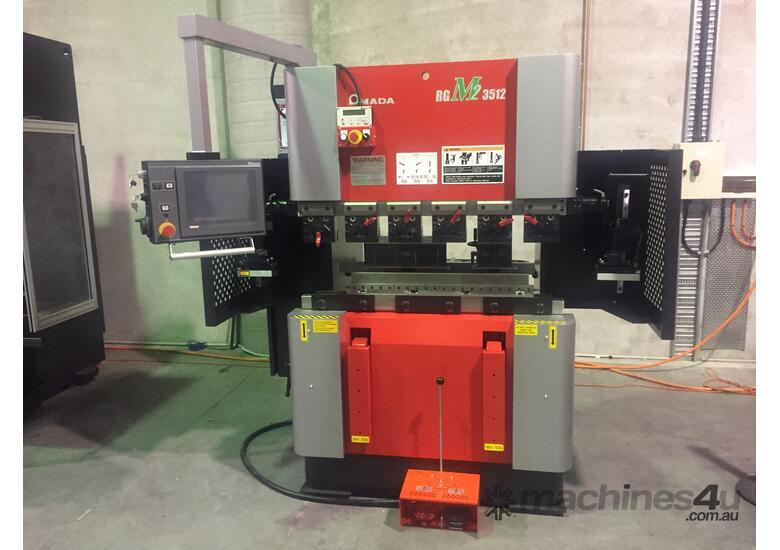 New Amada RG M2 Series RGM2-3512 8025 IN STOCK CNC Press Brakes in