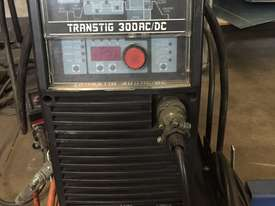 Used cigweld TRANSTIG 300 AC DC Three Phase Tig Welders in