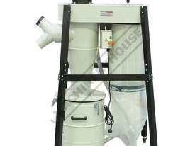 CD-2A Industrial Dust & Cyclone Separator Collector   1200cfm - LPHV System - picture2' - Click to enlarge