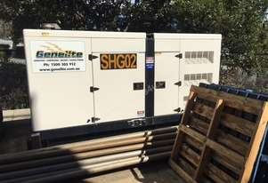 Genelite 130 KVA Generator - Very Low Hours