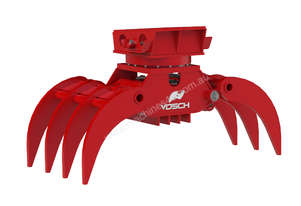 VOSCH HD rotating grapple for 14-20T excavators