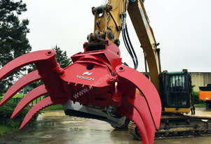 VOSCH HD rotating grapple for 14 Tonne through to 20 Tonne excavators