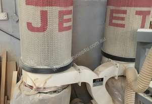 JET Twin bag double FILTER CARTRIDGE extractor