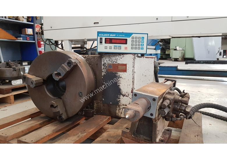 Golden Sun CNC-321V 4th Axis with G-Mate Controlle