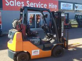 NISSAN HYSTER TCM TOYOTA 2.5 TON COMPACT STUBBIE 32-8FGK25 - picture0' - Click to enlarge