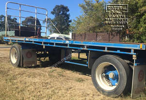 2000 Barker Two Axle Dog Trailer, EMUS NQ