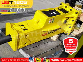 UBT180S Silence Hydraulic Hammer Rock Concrete Breaker ATTUBT - picture1' - Click to enlarge