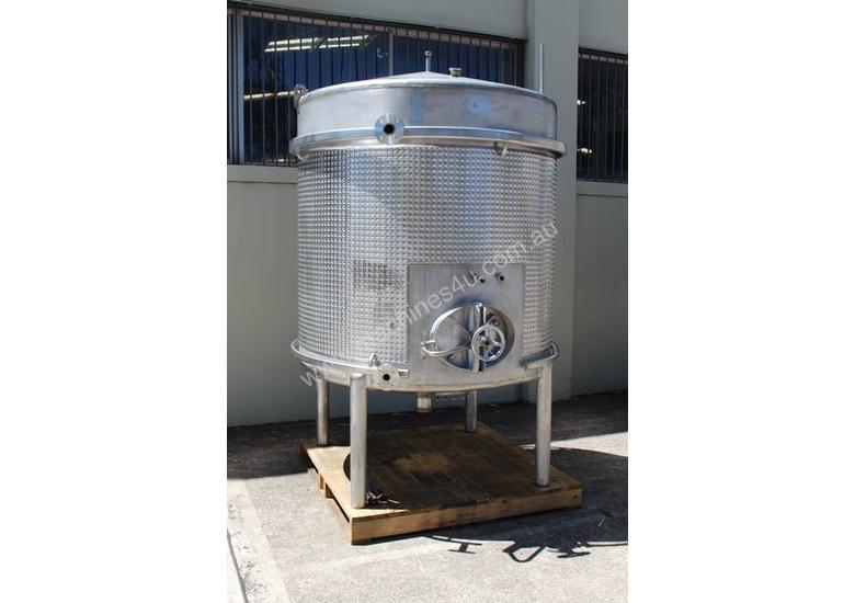 Stainless Steel Dimple Jacketed Tank