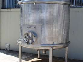 Stainless Steel Dimple Jacketed Tank - picture9' - Click to enlarge