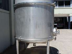 Stainless Steel Dimple Jacketed Tank - picture10' - Click to enlarge