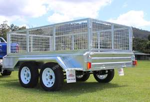 2018 Ozzi 9x5 Galvanised Box Trailer