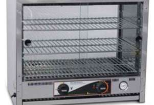 Roband PA40L - 40 Capacity Square Top Pie and Food Warmers