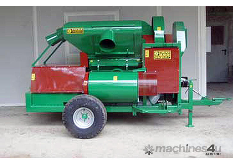 Facma Trailed Nut Harvester C380T
