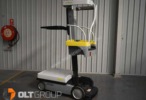 Crown WAV Personnel Lift Work Assist Vehicle Electric Stock Picker 4m Work Height