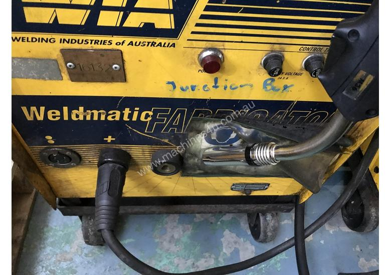 WIA MIG Welder Weldmatic Utility 250 amps 415 Volt with Seperate Wire Feeder