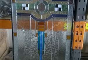 Or  LEADLIGHT PANELS ART DECO