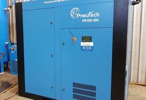 Pneutech PR Series 100hp (75kW) Variable Speed Rotary Screw Air Compressor
