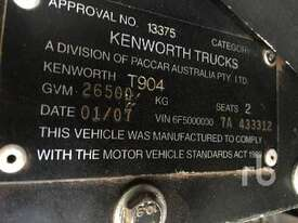 KENWORTH T904 Prime Mover (T/A) - picture4' - Click to enlarge