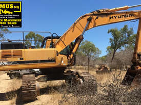 Hyundai 50ton Excavator, 3 buckets, rebuilt engine. EMUS NQ - picture0' - Click to enlarge