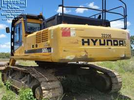 Hyundai 50ton Excavator, 3 buckets, rebuilt engine. EMUS NQ - picture1' - Click to enlarge