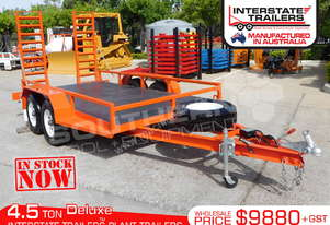 Plant Trailer Heavy Duty 4.5 TON Deluxe color ATTPT