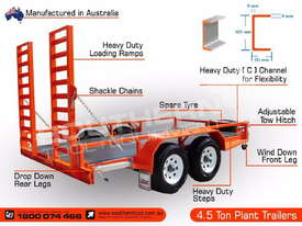 Plant Trailer Heavy Duty 4.5 TON Deluxe color ATTPT - picture2' - Click to enlarge