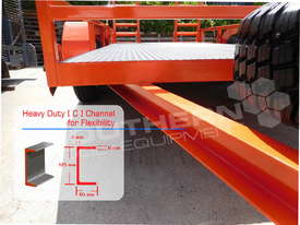 Plant Trailer Heavy Duty 4.5 TON Deluxe color ATTPT - picture3' - Click to enlarge