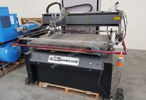 SCREEN PRINTER ATMA AT-120P FLATSCREEN 1220 x 700mm Made in Taiwan - TO CLEAR $1,475