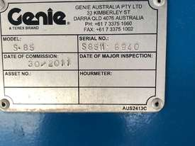 Genie S85 Used 2011  - picture1' - Click to enlarge