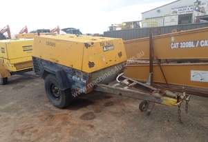 Compair Zitair 175A Trailer Mounted Compressor