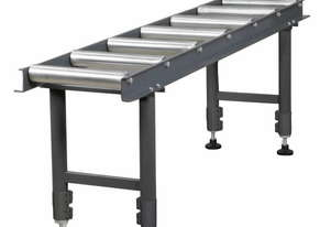2 Meter OPTIMUM Conveyor Roller Stand Table Band Drop Cold Saw Packaging Convey Material Metal