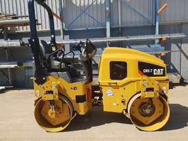USED CAT CB-224D 3T TWIN DRUM ROLLER - picture0' - Click to enlarge