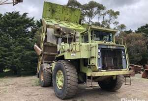 Terex 3307 Rigid Dump Truck, c1989, 40T, V12 Detroit Diesel eng, Allison Electric Shift Automatic, S