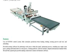 NANXING Auto Load & Unload Flatbed Nesting CNC Machine NCG2513L - picture1' - Click to enlarge