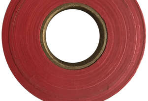 Safety Flagging Tape Red 30mm x 90mtr x 12 Rolls CH Hanson 17021