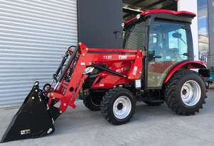 TYM T413 Tractor with 4in1 Front end Loader - Yanmar Engine - Hydrostatic Transmission