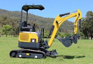 Mini Excavator and Trailer 8 Piece Package