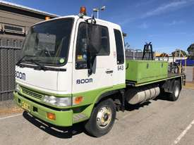 2000 HINO FD2J WITH 1995 STEELCO TRAVEL TOWER - picture1' - Click to enlarge